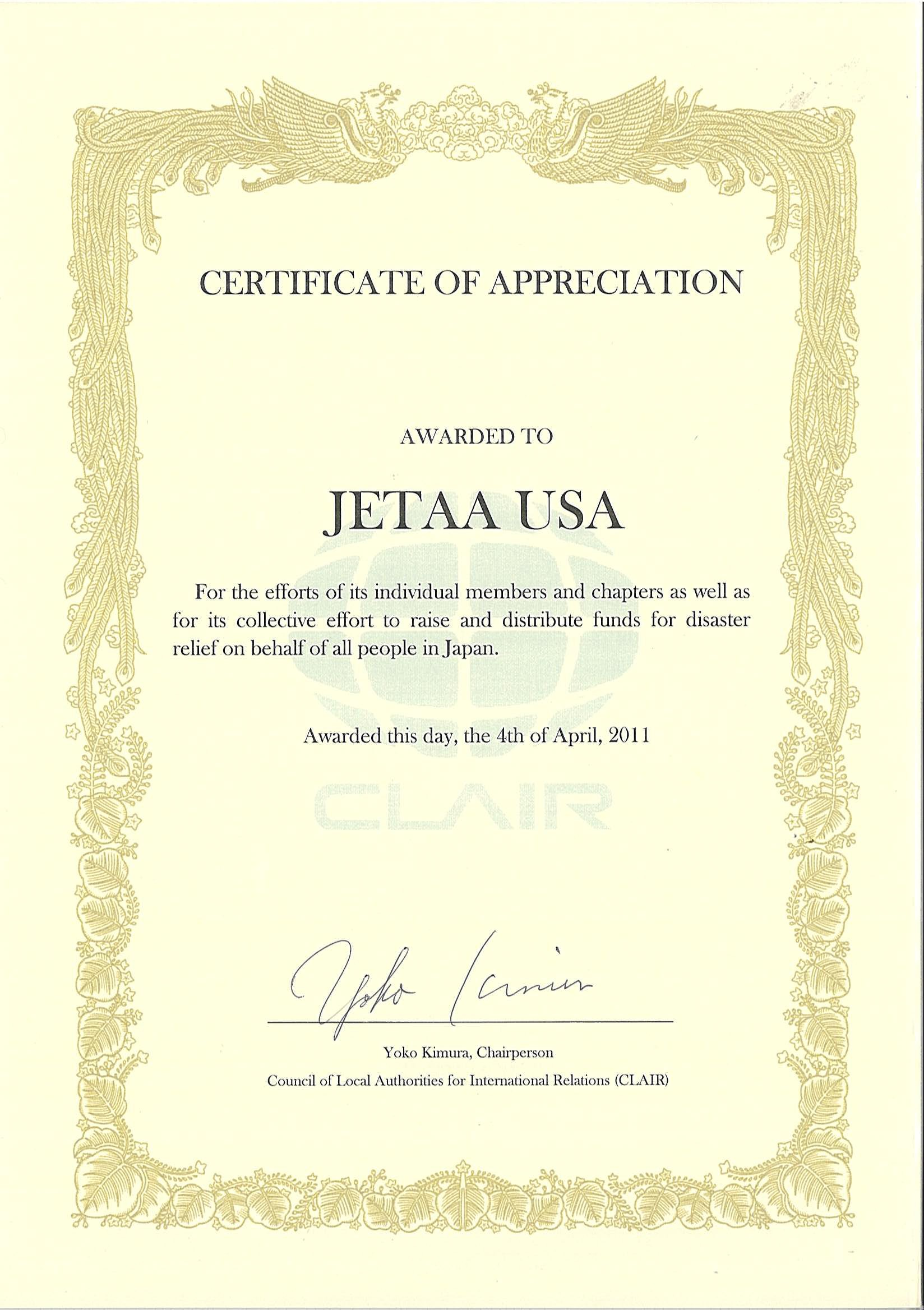 Message From Clair Jetaa Usa